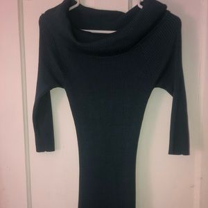 Blue sweater  dress Charlotte Russe